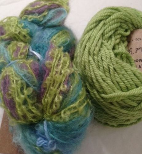 Magicball cowl - Nemo with lime